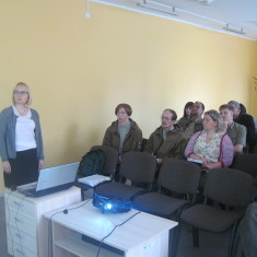 Round table discussion in Dubysa, Lithuania