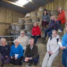 LIFE Viva Grass group at Colt Park barn_Sarah_Brewer