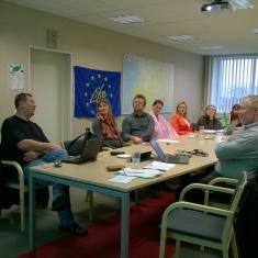 Meeting in Lääne-Saare municipality