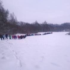[:en] Hike participants in Dubysa [:lt]Dubysos krašto keliauninkai [:lv] Pastaigas turpinājums