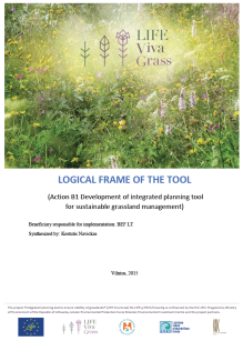 Logic framewrok of integrated planning tool on sustainable grassland management