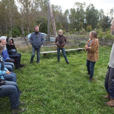 LIFE Viva Grass study visit to Sweeden