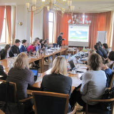 Second partner meeting is taking place in Cesis