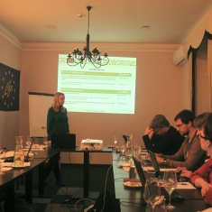 First project partners meeting, November 2014