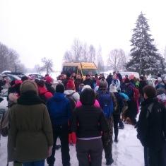 [:en] More that hundred people gathered to the visitor day [:lt] Daugiau nei 100 žmonių susirinko į žygį [:lv] Pasākums pulcēja apmēram 100 cilvēkus[:]