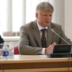 Aplinkos ministras Kęstutis Navickas.Nuotrauka Vaidoto Vilko