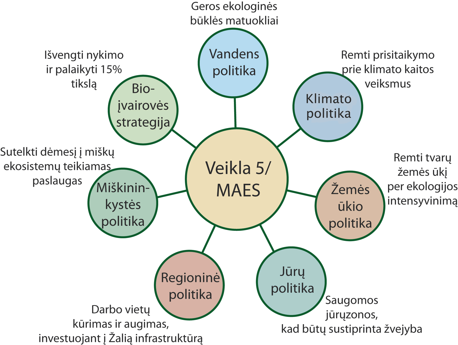 es biologinės įvairovės strategijos veiksmas 5