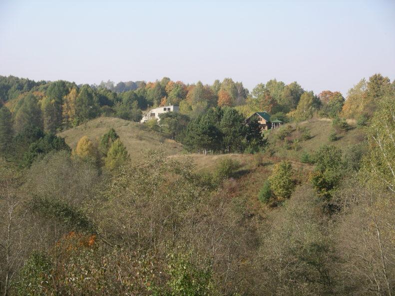 Before grassland restoration works