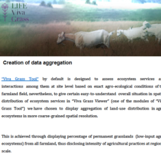 Creation of data aggregation