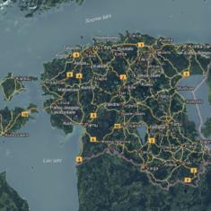 Ārējās kontekstuālās Lietuvas, Latvijas un Igaunijas datu bāzes